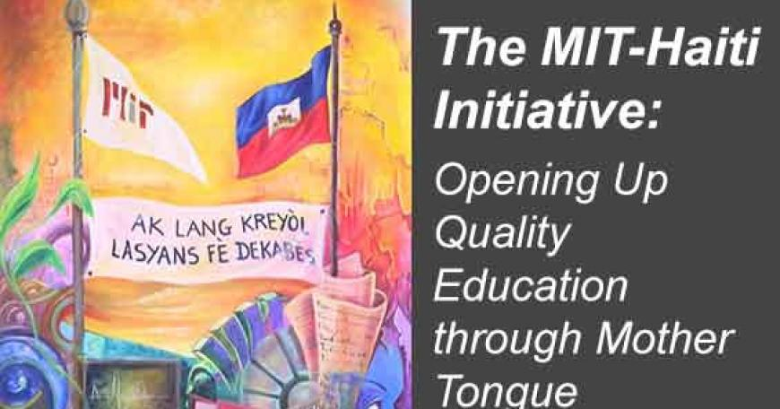 MIT-Haiti initiative banner