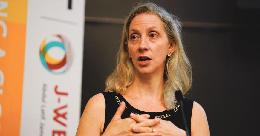 At the 2019 LINC conference, keynote speaker Rebecca Winthrop, director of the Center for Universal Education and a senior fellow at the Brookings Institution, talked about innovations that aim to scale education to ensure that all young people across the globe develop the skills needed for a fast-changing world.